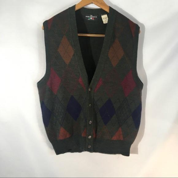 Italian Sweater Company Other - The Italian Sweater Co. Wool Blend Sweater Vest